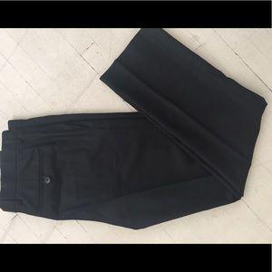 Agnes B Wool Pants with Metallic Detail